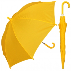 19 inch color matching plastic handle promotional kids umbrella