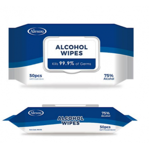 2020 Custom Factory Price Alcohol Pads Alcohol Wet Wipe With 75% Alcohol wipes