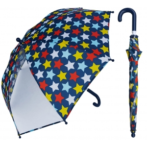 Custom design 19 inch kids umbrella. Start full color printing with POE panel.