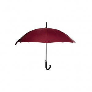 Customized Advertising 23 inch*8K auto open J shape handle straight umbrellas with logo prints