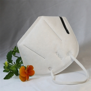 FDA CE certificate FFP2  KN95 In Stock recyclable 3D Fold Dust KN95 Face Mask