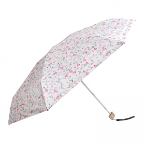 Gift Items for Ladies Sun Floral 5 folds Mini Umbrella with Bag