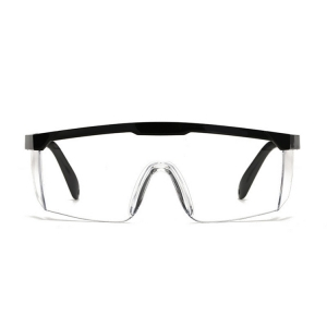 In stock FDA CE certificated anti-fog saliva splash impact equipment protective glasses safety eye goggles