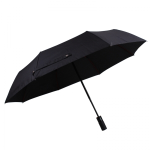 New Items from Shaoxing Factory 3 Fold Colored Windproof Frame Compact Business Umbrella with Tire Pattern Handle