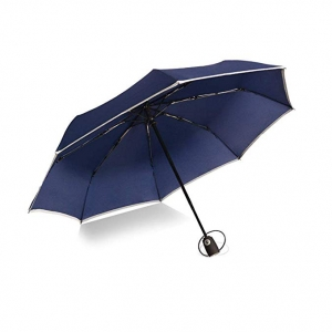 OEM Windproof Travel Umbrella Auto Open & Close 3 folding umbrella with Ergonomic handle