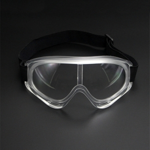 Protective safety goggles wide-vision lightweight eyewear clear lens quality medical goggles made in china