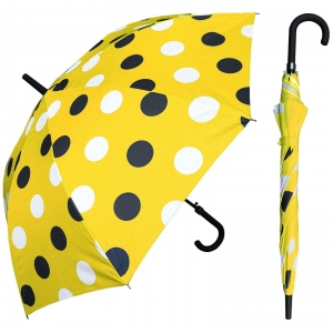 Round Points Print Advertising Promotion Straight Umbrella