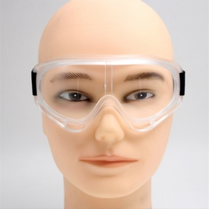 Safety goggles over glasses personal eye protection hospital goggles with clear anti-fog splash proof lenses