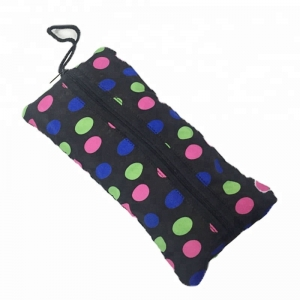 Shopping Bag Points Print Fold Umbrella For Lady