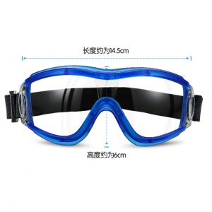 Single pack safety goggles personal protective safety adjustable virus goggles for eye protection