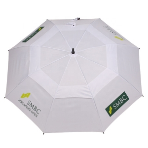 Strong High Quality Windproof Fiberglass Frame Golf Chinese factory Umbrella