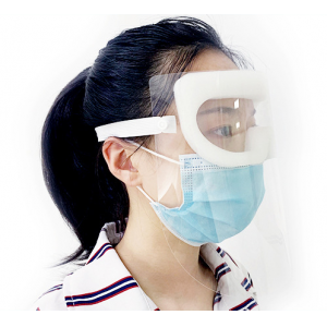 Supply medical protection face mask with eye shield