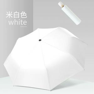 Wholesale Custom auto open 3 fold umbrella with logo print Uv protection coating umbrella  factory