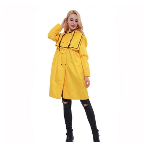 Wholesale Europe style waterproof protective rain coat custom