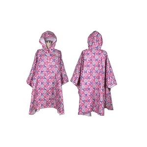 Wholesale high quality new fashion Waterproof Outdoor Fashion Printing Full Body Light Raincoats Colorful Poncho