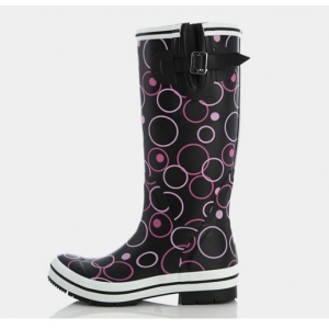 Youth Junior bulk rain boots high quality rubber rain shoes Wellies rain safety shoes