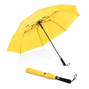 custom logo umbrella auto open manual close 2 folding golf umbrella