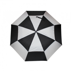 China strong windproof  double canopy golf umbrella factory