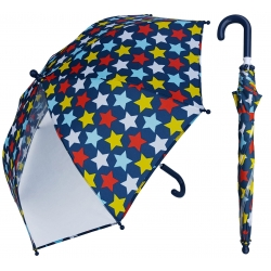 China Custom design 19 inch kids umbrella. Start full color printing with POE panel. factory