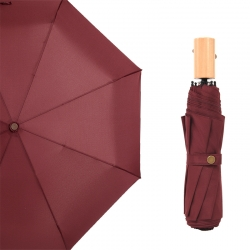 China High quality custom pongee fabric 3fold umbrella promotional rain umbrella OEM-Fabrik