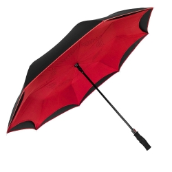 China Wholesale Auto Open Inversa Large Inverted Double Layered Reinforced Canopy Windproof Umbrella factory