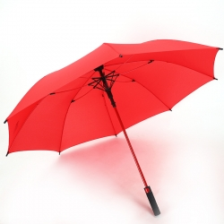 China Wholesale Straight auto umbrella Logo Printed 8rib windproof straight umbrella red factory