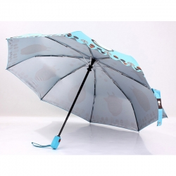 China cheap promotional 3 fold umbrellas factory
