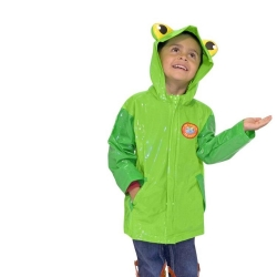 China high quality Promotional outdoor travel waterproof rubber rain coat custom logo rain coat Cartoon fashion children's raincoat-Fabrik