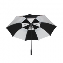 China promotional men's golf umbrella 2 colour factory