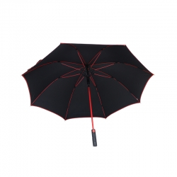China windproof  custom logo prints golf umbrella factory