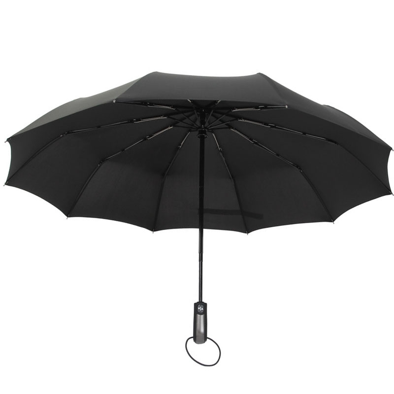 e371ddfc7 Fashion-Classic-Design-23-inch-10-ribs-Automatic-3-Folding-10Rib-Waterproof- Promotional-Ladies-Foldi - China Umbrella Manufacturer,China Beach umbrella  ...